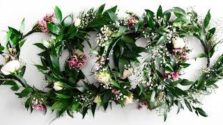 DIY Flower Crown Tutorial