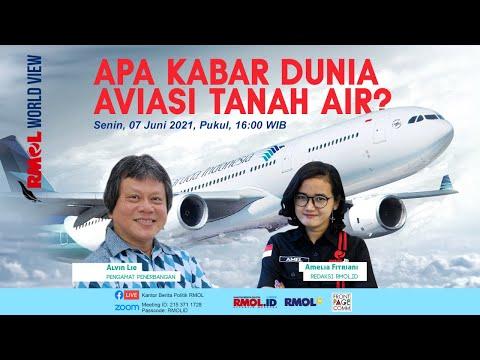 RMOL WORLD VIEW • Apa Kabar Dunia Aviasi Tanah Air?
