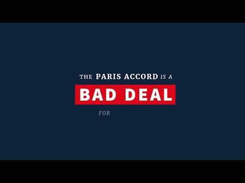 The Paris Accord is a Bad Deal for America