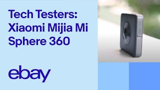 Xiaomi Mijia Mi Sphere 360 Camera Review -  eBay Tech Testers