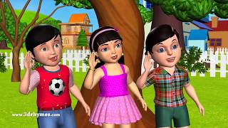 When You Hear A Sound Song - 3D Animation Nursery Rhymes And Kids Songs
