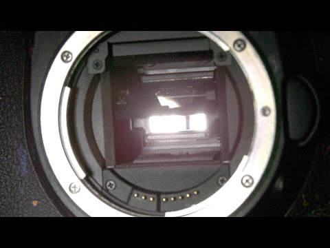 Watch The Guts Of A DSLR Camera In Action At 10,000 Frames Per Second