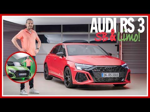 Audi RS 3 Sportback und Limousine mit 400 PS und 500 Nm (2021): DIESE FEATURES sind NEU! - REVIEW