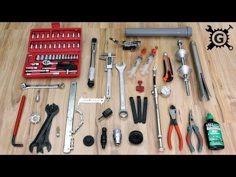 Fahrrad Werkzeug zur Wartung und Reparatur - Grundausstattung & Spezialwerkzeuge