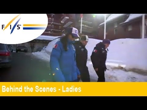 Behind the Scenes: Meribel Ski-Weltcup