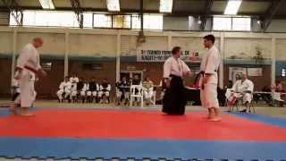 preview picture of video 'III Torneo Regional Ezeiza - Kumite - Mario Tarelli - Federico Gerhardt'