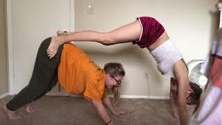 Yoga Challenge with Sisters
