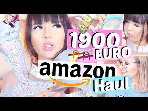 1900€ AMAZON HAUL 💰💸 zu extrem!! ViktoriaSarina