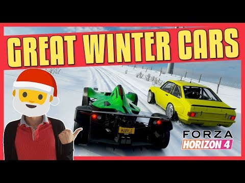 Forza Horizon 4 | Great Winter Cars (A, S1, S2 Class)