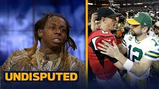 Lil Wayne predicts a win for his Green Bay Packers over the Atlanta Falcons   UNDISPUTED