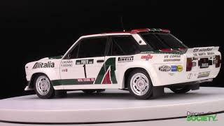 Kyosho Fiat 131 Abarth Alitalia #1 Rally Portugal