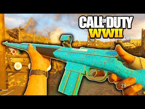 *NEW* ITRA BURST is AMAZING in CALL OF DUTY WW2! NEW DLC WEAPONS EPIC