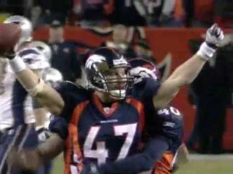 Patriots vs Broncos 2005 Divisional Playoffs Highlights