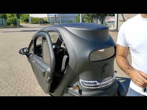 Kabinenroller FUTURA 2, 45 km/h, 60 km Reichweite Elektromobil Elektro Kabinenroller