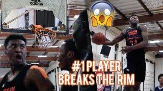 #1 Player Kyree Walker BREAKS THE RIM IN GAME!!