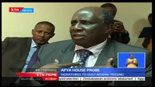KTN Prime: Circus at Afya House as signatures to oust Nyamai go missing