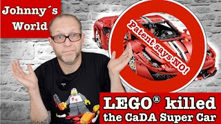 Extrablatt: LEGO® killed the CaDA Super Cars  - Patent sagt NEIN!