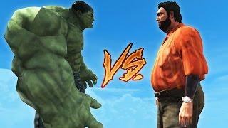 ☠️ RECEP İVEDİK VS HULK ⚠️ (GTA 5)