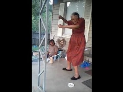 Granny Dances To Bishop Bullwinkles Hell 2 Da Naw Naw Bossip