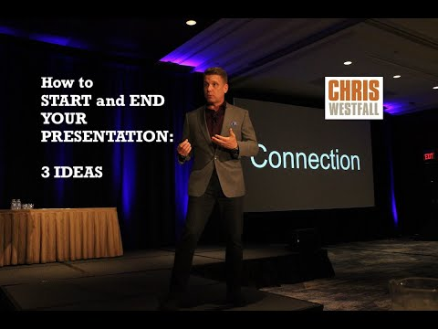 How To Start And End Your Presentation: 3 Public Speaking Tips To Connect With Your Audience