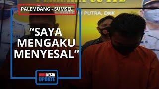 Penampilan YouTubers Prank Daging Sampah Pakai Baju Tahanan, Tertunduk saat Ditanya: Aku Menyesal