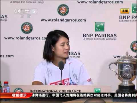 Li Na French Open news conference 6-4-2011