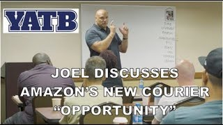 Joel Discusses the Amazon Courier Service