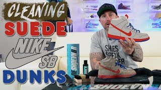 08:48 How to clean Suede Nike SB Dunks with Reshoevn8r