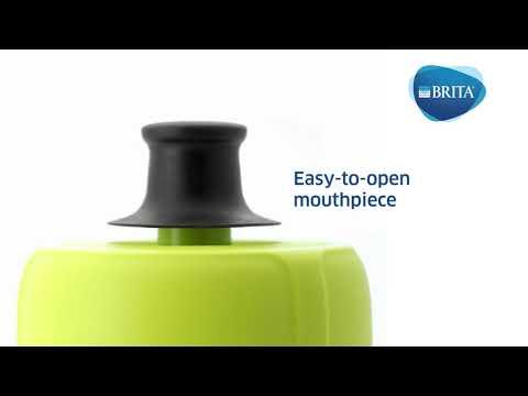 BRITA vandenį filtruojanti gertuvė Active, rožinė kaina ir informacija | Vandens filtrai | pigu.lt