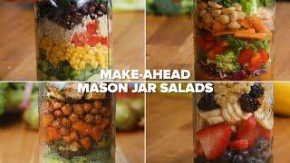 Make-Ahead Mason Jar Salads For The Week