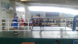 Спарринг в Таразе 2014-04