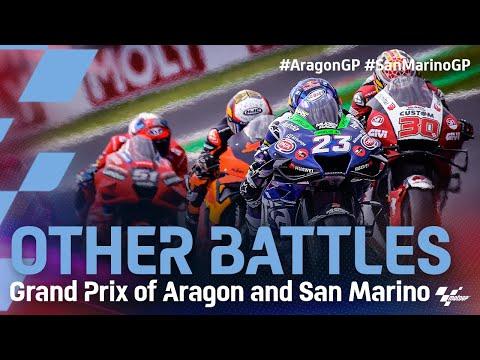MotoGP 2021 第14戦サンマリノ 決勝レースのバトル映像動画