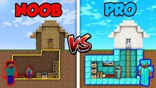 Minecraft NOOB vs. PRO: SECRET HOUSE BASE! | AVM Shorts Animation