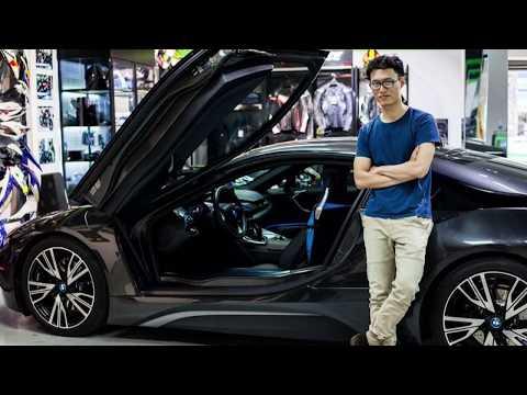Siêu xe BMW i8 của dân chơi Việt đổi màu