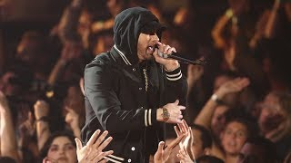 Eminem feat. Kehlani - Nowhere Fast [UltraHD] (iHeart Music Awards 2018) + Em X DJ Khaled Interview
