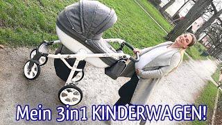 Mein KINDERWAGEN 3in1 VITA von My Junior! Review inkl. Isofix fürs Auto!