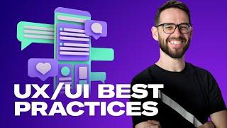 UX/UI BEST PRACTICES FOR WEB DESIGN: Free Web Design Course 2020   Episode 12