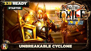 Path of Exile 3.14 - Unbreakable Cyclone Build - Gladiator Duelist - PoE Ultimatum - PoE 3.14