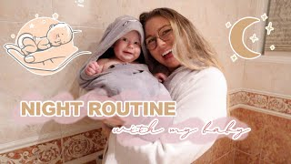 NIGHT ROUTINE WITH MY BABY! // how we wind down our baby to sleep through the night + our schedule!
