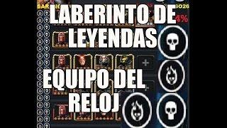 TRUCO LABERINTO DE LEYENDAS EQUIPO DEL RELOJ MARVEL BATALLA DE SUPERHEROES