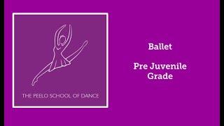 Ballet pre-juvenile grade