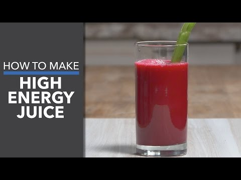 Video High Energy Juice