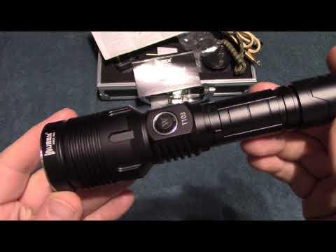 Wuben T103 Flashlight Kit Review!
