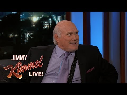 Jimmy Kimmel & Terry Bradshaw Reflect on Friendship