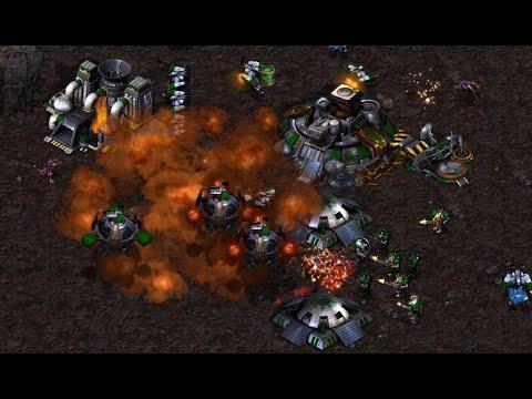 Firebat (T) v Terror (Z) on Outsider - StarCraft - Brood War REMASTERED