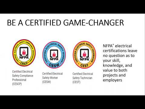 Introduction to NFPA CESCP and Electrical Safety Training Courses ...
