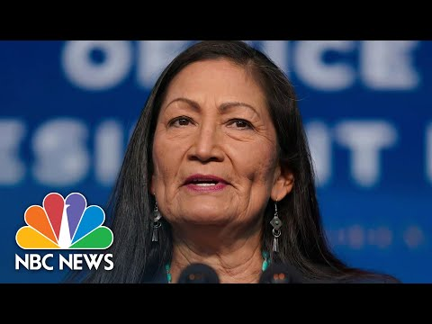 Meet The Cabinet: Rep. Haaland Could Be First Native American Cabinet Secretary | NBC News NOW