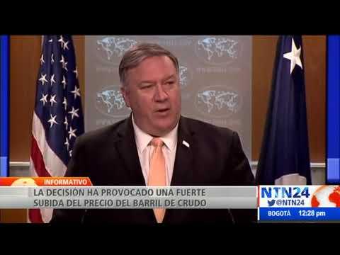EEUU anuncia fin de exenciones para la compra de petróleo a Irán