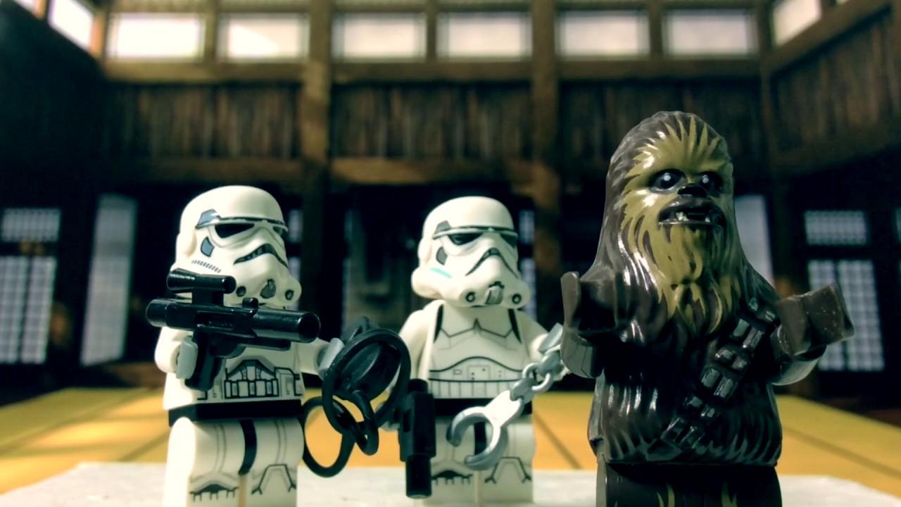 Lego Fight Club - Chewbacca VS Green Zombi