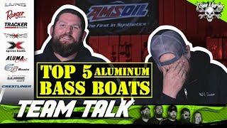TEAM TALK: TOP 5 ALUMINUM BASS BOATS